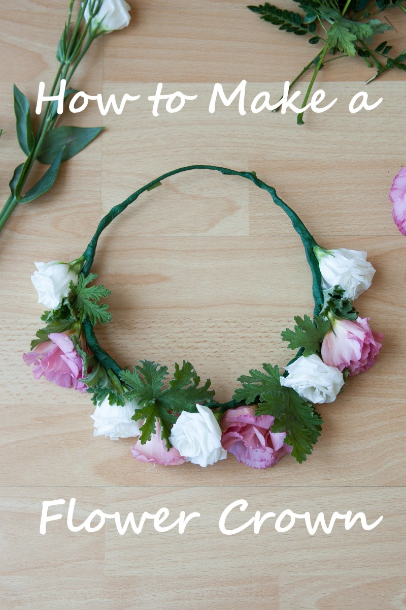 How to make a flower crown olives and peaches izmirmasajfo