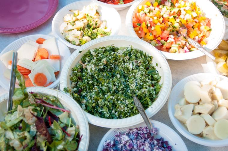 Israeli salads